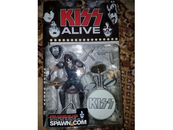 KISS Alive docka Peter Criss
