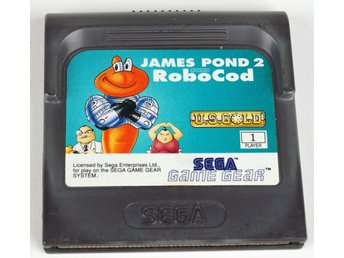 SEGA Game Gear: James Pond 2 - RoboCod