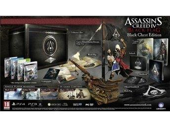 Javascript är inaktiverat. - Nynäshamn - Assassins Creed 4 Black Flag Black Chest Collectors Edition *RARE* PS4 spel NYTT o INPLASTAT !!! Skickas när jag ser pengarna på mitt personkonto i Nordea. Se även mina andra auktioner för eventuell samfrakt. Jag kan invänta lön, bidrag - Nynäshamn