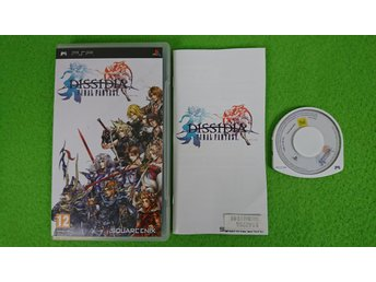 Final Fantasy Dissidia KOMPLETT PSP Playstation Portable