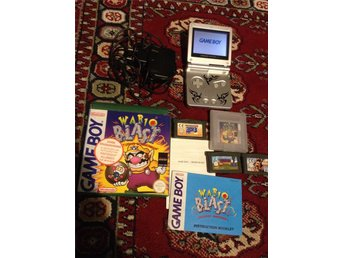 Game Boy Advance SP+4 Games