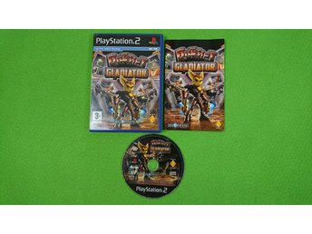 Ratchet Gladiator SVENSK UTGÅVA Playstation 2 ps2