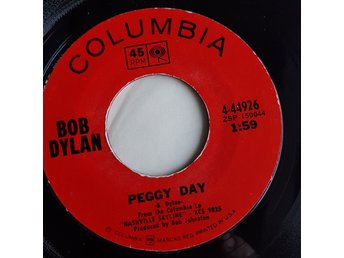 Bob Dylan, Singel, Peggy Day/Lay Lady Lay