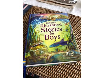 Usborne Illustrated Stories for Boys bok på engelska