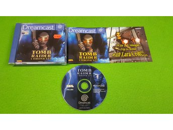 Tomb Raider Chronicles KOMPLETT Sega Dreamcast