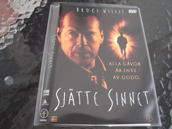DVD-SJÄTTE SINNET *Bruce Willis*