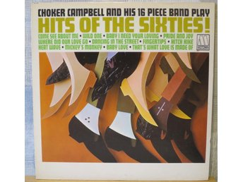 CHOKER CAMPELL :: HITS OF THE SIXTIES  (LP)  US Orig