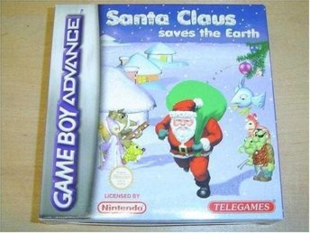 SANTA CLAUS SAVES THE EARTH NINTENDO GAMEBOY ADVANCE *NYTT*