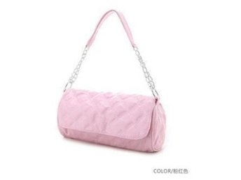 Ny Women Fashion PU Leather Shoulder Bag Handbag Pink