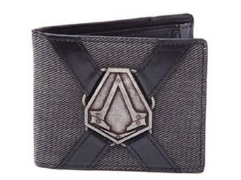 Assassin's Creed Syndicate: Wallet with Metal Badge