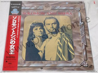 SOLOMON AND SHEBA - CLASSIC JAPAN LD