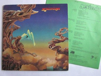 Yes -Yesterdays LP US press Atlantic records 1974 - Motala - Yes -Yesterdays LP US press Atlantic records 1974 - Motala
