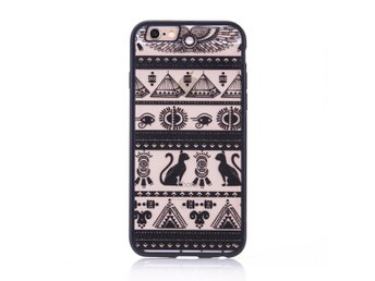 iPhone 6 PLUS/6s PLUS - Katt Horus Egyptisk mytologi - Svart henna