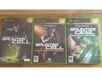 Tom Clancys Splinter Cell Trilogy Collection orginal xbox PAL (EU)