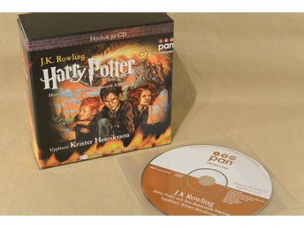 Harry Potter och den Flammande bägaren ljudbok CD