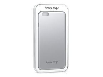 BUTIK - HAPPY PLUGS DELUXE SLIM CASE IPHONE 6 PLUS SILVER