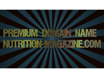 Premium Domain Name Nutrition-magazine.com