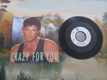 CRAZY FOR YOU, DAVID HASSELHOFF, MINI LP, SINGEL, EP