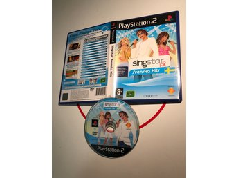 PlayStation 2 PS2 spel Singstar Svenska Hits