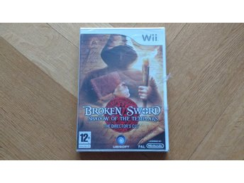 Nintendo Wii: Broken Sword: Shadow of the Templars (fabriksinplastat)
