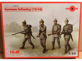 GERMAN INFANTRY (1914)       ICM 1/35 Byggsats