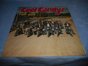 Cool Candys - Full gas (LP) MC-omslag