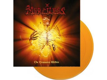 Merciless -The treasure within LP orange RSD 2018 ltd 300 co