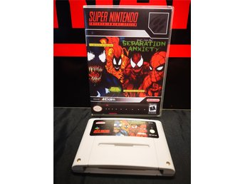Separation Anxiety / Super Nintendo / SNES / Venom / Spider Man / Rare