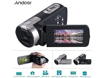 Digital Videokamera 1080P Full HD 20MP 16x zoom night shot