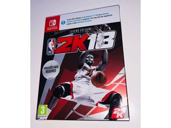 NBA 2K18 LEGEND EDITION // Nintendo Switch // NY // BILLIGAST 999 kr