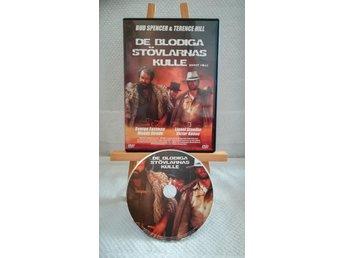 De blodiga stövlarnas kulle Boot Hill (Spencer & Hill, 1969) DVD *Svensk utg*