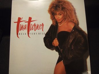 LP - TINA TURNER. Break every rule. 1986