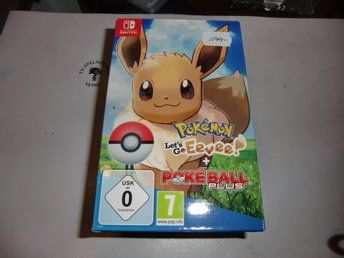 Pokemon Let´s Go Eevee inkl Pokeball Plus