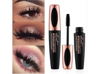 4D Fiber Lash Mascara Waterproof 3d Eyelash Extension Black Thick Lengthening NY
