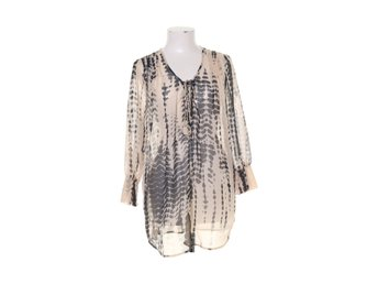 Flash Woman, Blus, Strl: M, Beige/Svart