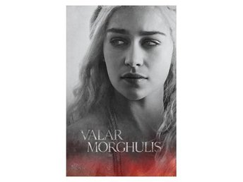 Game Of Thrones Affisch Daenerys