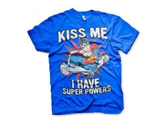 Superman T-shirt Kiss Me L
