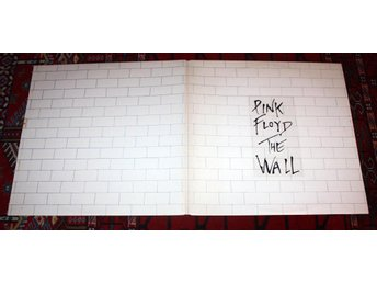 PINK FLOYD 2lp The Wall UK Progg  Psych 1979 Harvest  M-
