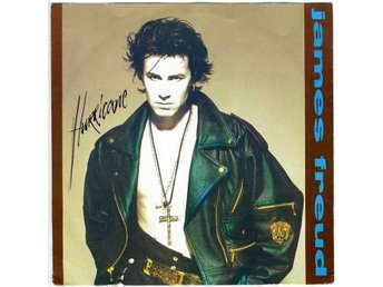 "JAMES FREUD – Hurricane (EX) / 7"" Vinyl PS Single Scandinavia '89 / (Models)"