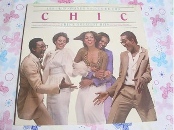 CHIC - GREATEST HITS LP 1979