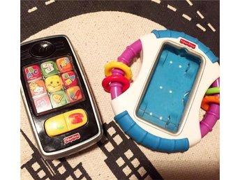 FISHER PRICE mobiltelefon & Apple case - Kävlinge - FISHER PRICE mobiltelefon & Apple case - Kävlinge
