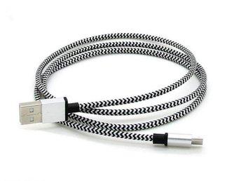Laddkabel 3m. - Micro-USB Vit #0082 - Skene - Laddkabel 3m. - Micro-USB Vit #0082 - Skene
