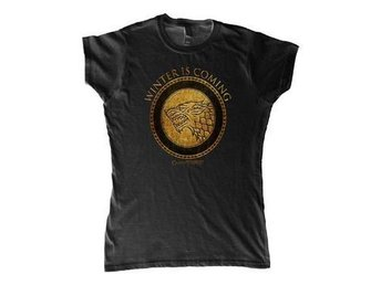 Game of Thrones T-shirt Winter is Coming Dam XL