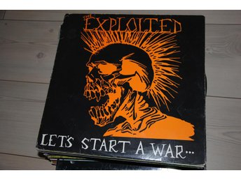 The EXPLOITED - Let's Start A War... ...Said Maggie One Day - MNV