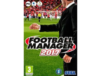 Football Manager 2017 (PC) - Ny och förseglad