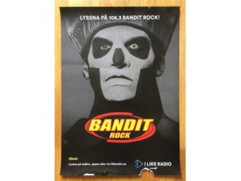 Ghost Promo Poster METALLICA MISFITS SLAYER DANZIG BANDIT ROCK METAL GHOST BC
