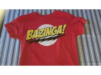 T-shirt Bazinga! Big bang theory