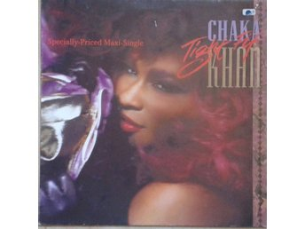 "Chaka Khan title* Tight Fit Extended/Who's It Gonna Be* Synth-pop 12"" Germany"