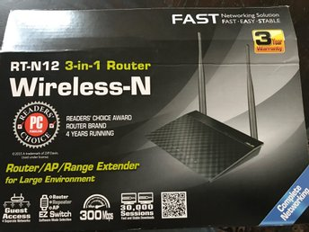 Wireless 3 in 1 router