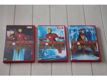 DVD-Filmer Iron man 3 st. - Skånes-fagerhult - DVD-Filmer 3 stycken Iron man , nyskick på filmerna ! Katt och hund i hemmet ! - Skånes-fagerhult